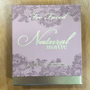 Too faced Natural matte pallet brand new